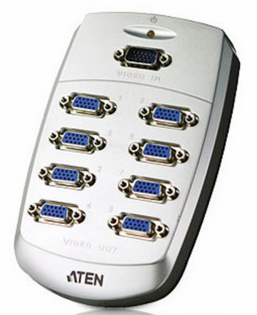 Aten VS88 8-Port VGA Video Splitter (250MHz)