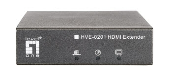 LevelOne HVE-0201 HDMI Extender over Fiber