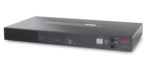 APC AP7721 RACK ATS, 10A/230V, 12A/208V, C14 IN, (12) C13 OUT