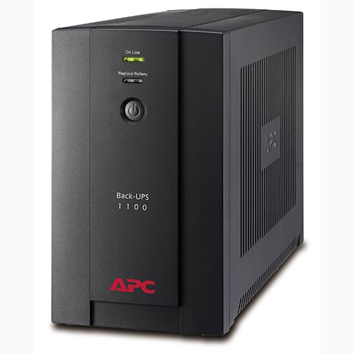 APC BX1100LI-MS Back-UPS 1100VA, 230V, AVR, Universal and IEC So