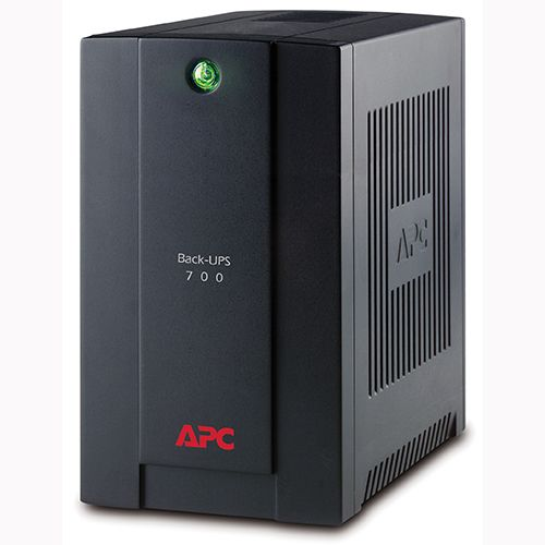 APC BX700U-MS Back-UPS 700VA, 230V, AVR, Universal and IEC Socke