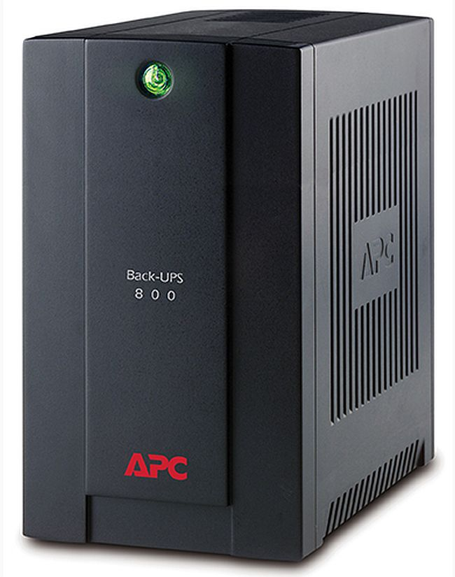 APC BX800LI-MS Back-UPS 800VA, 230V, AVR, Universal and IEC Sock