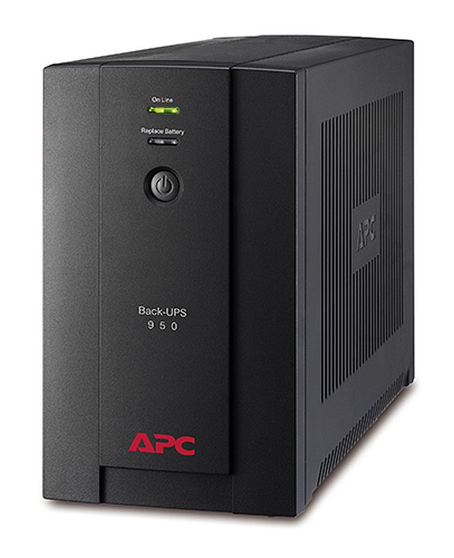 APC BX950U-MS Back-UPS 950VA, 230V, AVR, Universal and IEC Socke