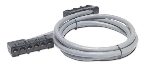 APC DDCC5E-015 4.5m Data Distribution Cable, CAT5e UTP CMR Gray,