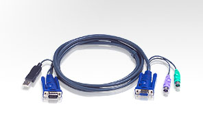 Aten USB KVM Cable 6m - 2L-5506UP