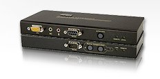 Aten USB KVM Extender with RS232 - CE750