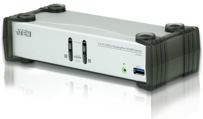ATEN CS1912 2-Port USB 3.0 DisplayPort KVMP Switch