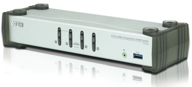 ATEN CS1914 4-Port USB 3.0 DisplayPort KVMP Switch