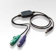 Aten PS2 to USB Adapter (PC) - UC10KM