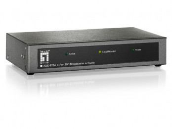 LevelOne 4-Port DVI Broadcaster - ADE-8204