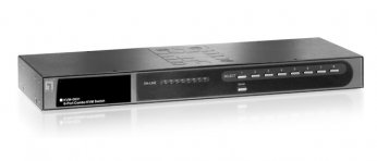 LevelOne 8-port Combo KVM Switch with Expansion Slot - KVM-0831