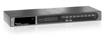 LevelOne 16-port Combo KVM Switch with Expansion Slot - KVM-1631