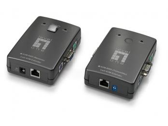 LevelOne Cat.5/6 KVM Extender - KVM-9005