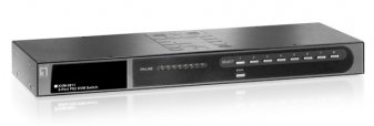 LevelOne 8-Port PS2 KVM Switch - KVM-0811
